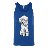 Poodle Unisex Tank Top, Funny Gift for Cute Dog Lovers