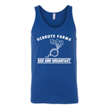Shrute Farms Bed n Breakfast Beets Tank Top for Men and Women