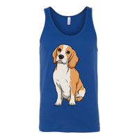 Beagle Unisex Tank Top, Funny Gift for Cute Dog Lovers