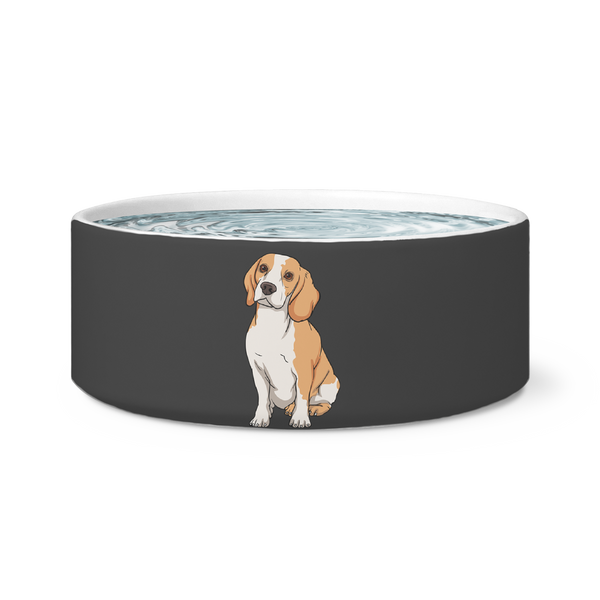 Beagle Dog Bowl, Funny Gift for Cute Dog Lovers