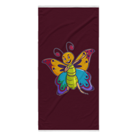 Butterfly Beach Towel, Moth Lover Gifts