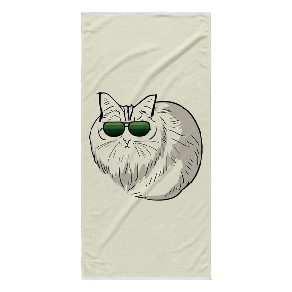 Birman Cat Beach Towel, Cat Lover Gifts 9188A