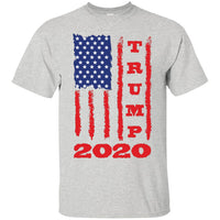 Trump 2020 USA Flag Shirt, Gifts for Republicans Conservative