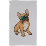 French Bulldog Sunglasses Funny Kitchen Towel, Gifts for Dog Puppy Lovers