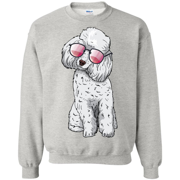 Poodle Sweatshirt, Cute Gift for Cute Dog Lovers