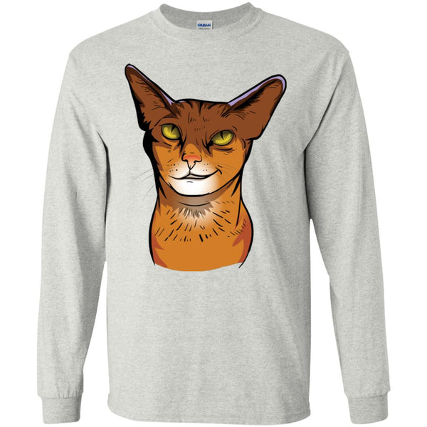 New ABYSSINIAN CAT Long Sleeve T Shirt