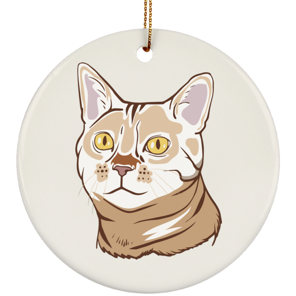 Bengal Cat Ornament Christmas Tree Ornaments Holiday Decor