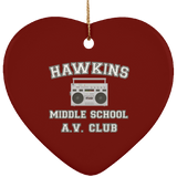 Hawkins Middle School Christmas Ornaments