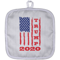 Trump 2020 USA Flag Pot Holder, Gifts for Republicans Conservative
