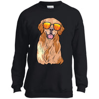 Golden Labrador Retriever Sweatshirt, Funny Gift for Dog Lovers