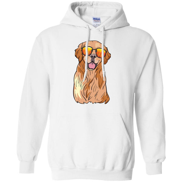 Golden Labrador Retriever Hoodie Sweatshirt, Funny Gift for Dog Lovers