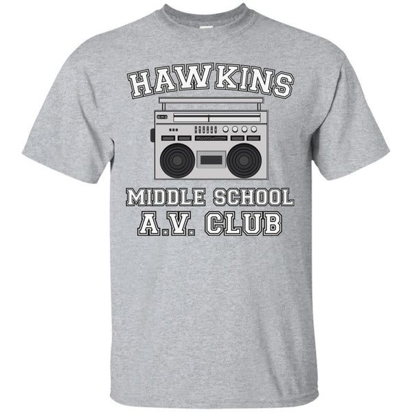 Hawkins Middle School T Shirt for Women Youth Kids Boys Girls