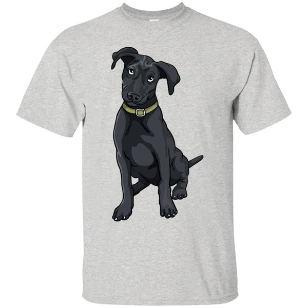 Black Labrador Retriever Dog Tee Shirt Boys Girls Men Women Kids Youth