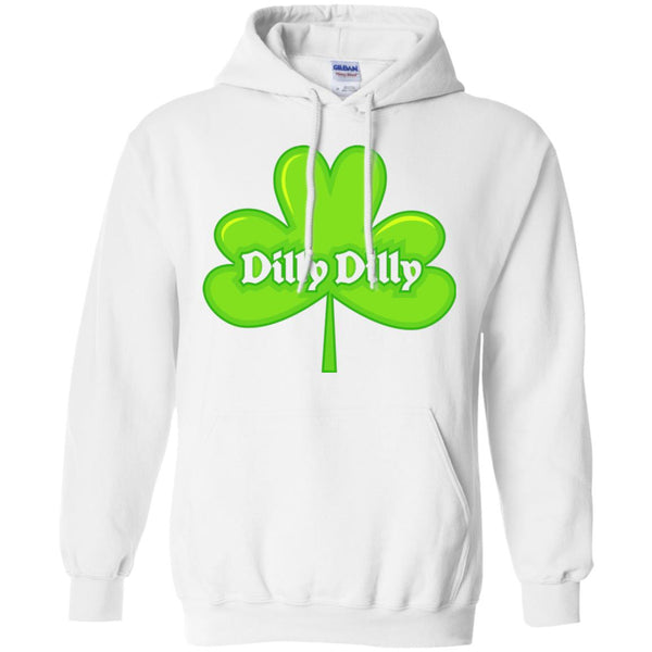 Dilly Dilly St. Patrick's Day Shamrock Hoodie Sweatshirt for Men Women Boys Girls