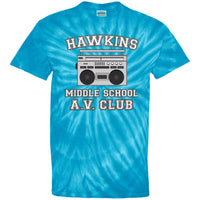 Hakwins Middle School Youth Tie Dye Shirt