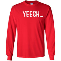 Yeesh Yes Long Sleeve T Shirt for Men Women Boys Girls