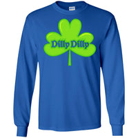 Dilly Dilly St. Patrick's Day Long Sleeve Shamrock T Shirt for Men Women Boys Girls