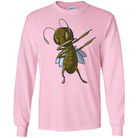 Grasshopper Long Sleeve Shirt, Dabbing Gifts for Insect Bug Lovers
