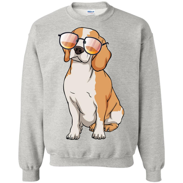 Beagle Sweatshirt, Cute Gift for Cute Dog Lovers