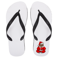 Santa Sloth Flip Flops, Christmas Gifts for Sloth Lovers