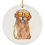Golden Retriever Dog Ornament Christmas Tree Ornaments Holiday Decor