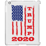 Trump 2020 USA Flag Clip Case for iPad, Gifts for Republicans Conservative