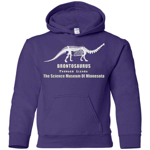 Dustin Brontosaurus Boys Girls Kids Youth Pullover Hoodie Sweatshirt Stranger of Things
