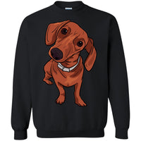 Dachshund Sweatshirt, Funny Gift for Cute Dog Lovers