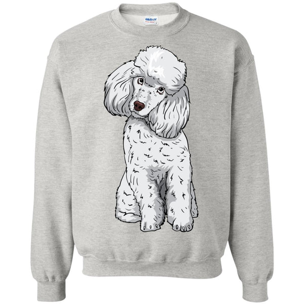 Poodle Sweatshirt, Funny Gift for Cute Dog Lovers