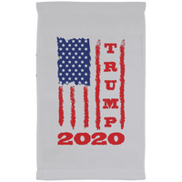 Trump 2020 USA Flag Kitchen Towel, Gifts for Republicans Conservative