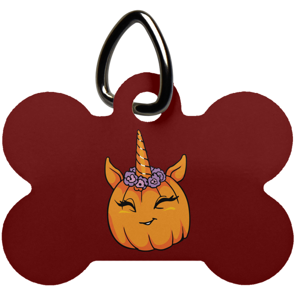 Unicorn Pumpkin Halloween Pet Dog Tag Cat, Gifts for Trick Treat Costume Party