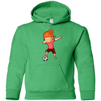 Soccer Hoodie for Girls Men Women Cute Funny Dabbing Dance Soccer Hoodie