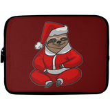 Sloth Santa Laptop Sleeve, Christmas Gifts for Sloth Lovers