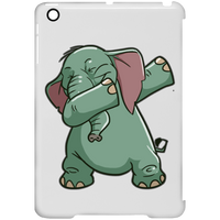 Elephant Clip Case for iPad, Funny Dabbing Gifts for Animal Dance Lovers
