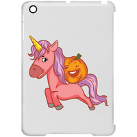 Halloween Unicorn Pumpkin Clip Case for iPad, Gifts for Trick Treat Party