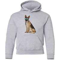 German Shepherd Hoodie Sweatshirt, Cute Gift for Dog Lovers