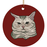 American Shorthair Cat Christmas Tree Ornaments, Cat Lover Gifts 9184