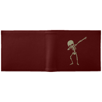 Halloween Skeleton Dabbing Wallet, Gifts for Trick Treat Skull Party