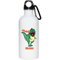 ULISES Dinosaur T-Rex Custom Personalized Stainless Steel Water Bottle