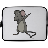 Dabbing Mouse Rat Laptop Sleeve, Gifts for Rodent Lovers