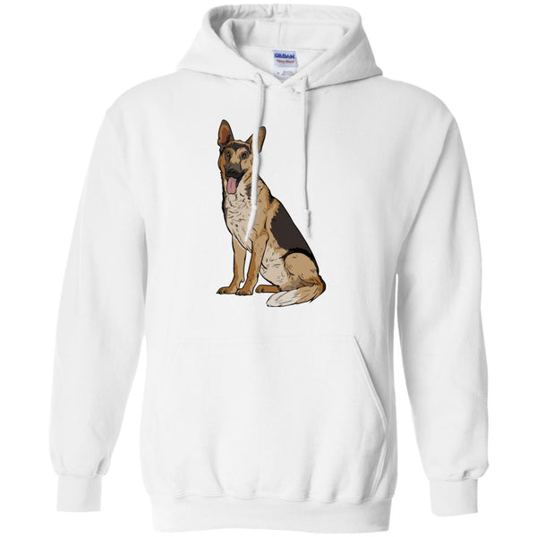 German Shepherd Hoodie Sweatshirt, Funny Gift for Dog Lovers