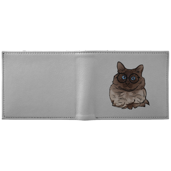 Balinese Cat Wallet, Cat Lover Gifts 9186A