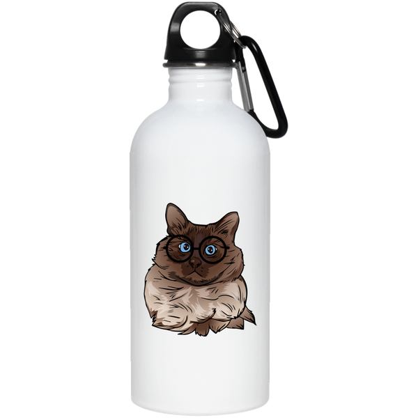 Balinese Cat Stainless Steel Water Bottle, Cat Lover Gifts 9186A