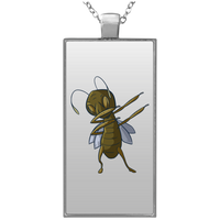 Grasshopper Pendant Necklace, Dabbing Gifts for Insect Bug Lovers