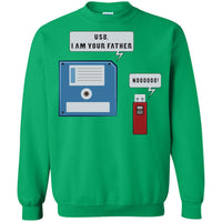 USB Floppy Disk Funny Nerd Geek Unisex Crewneck Sweatshirt for  Men Women Boys Girls Kids Youth