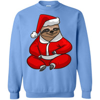 Santa Sloth Sweatshirt, Christmas Gifts for Sloth Lovers