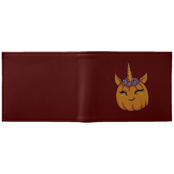 Unicorn Pumpkin Halloween Wallet, Gifts for Trick Treat Costume Party
