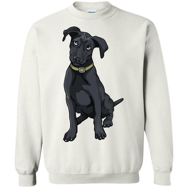 Black Labrador Retriever Dog Sweatshirt Boys Girls Men Women Kids Youth