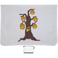 Halloween Pumpkin Tree Shoulder Bag, Gifts for Candy Treat Scary Trick