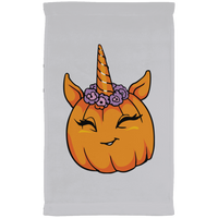 Unicorn Pumpkin Halloween Kitchen Towel, Gifts for Trick Treat Costume Party